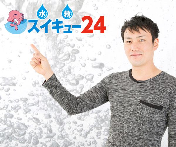 福島市で水道、水廻りの修理を依頼するならイルカが目印の【スイキュー(水救)24】