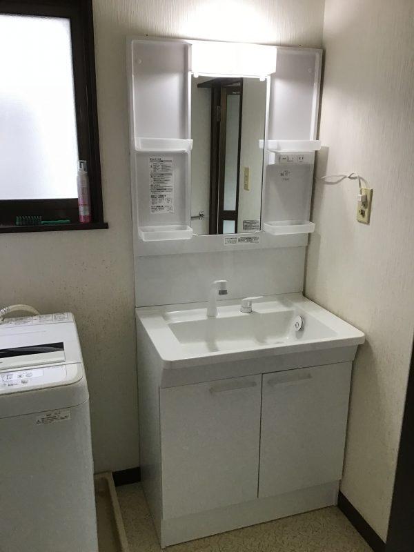 福島市 洗面台交換