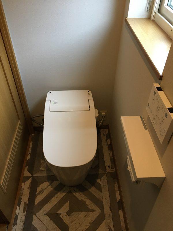福島市 トイレ、内装交換